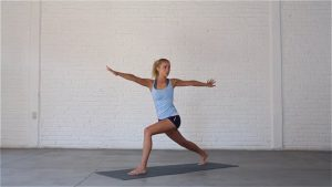 Energy Boost is a classic vinyasa sequence.