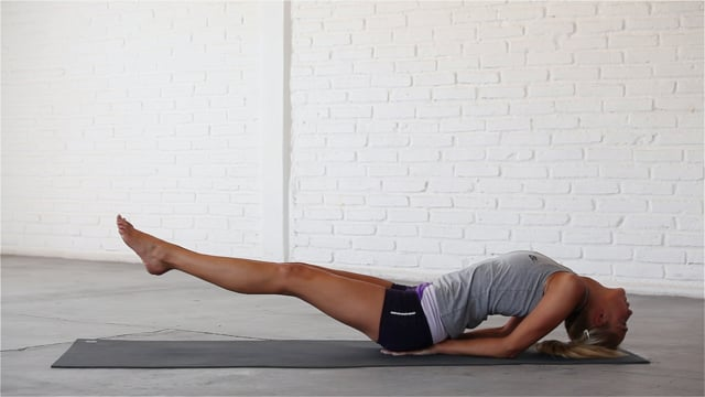 Fish pose is an advanced, core-strengthening backbend.