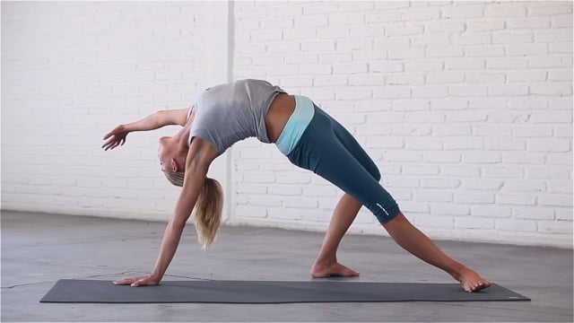 Flexible Spine is all about the backbends.