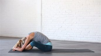 Folded Butterfly Pose