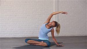 A sequence to release tightness in the neck and shoulders.