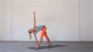 Revolved Triangle Pose