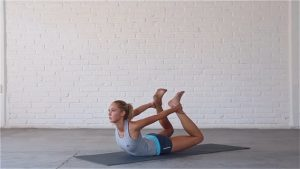 Spinal Flow is an advanced vinyasa sequence.