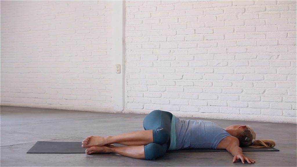 2-Knee Reclining Spinal Twist
