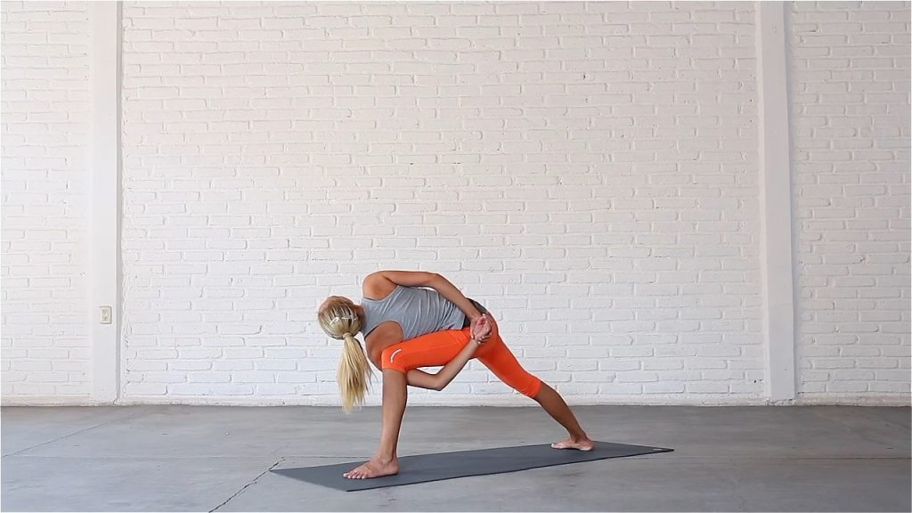 Bound Extended Side Angle Pose