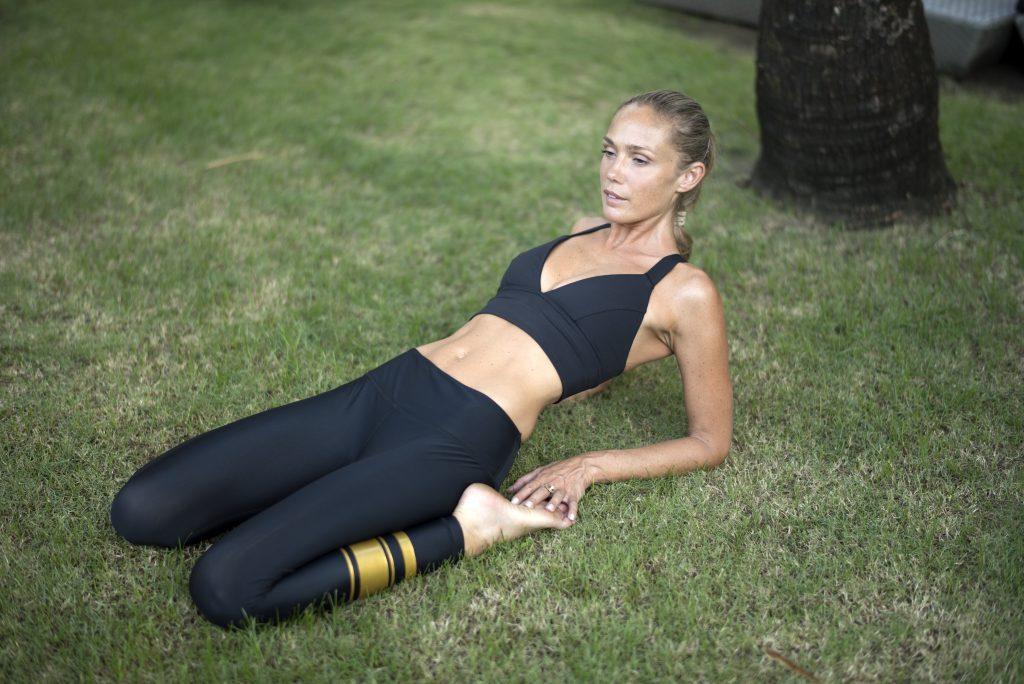Yoga For Flexibility—Saddle Pose.