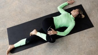 Reclining Spinal Twist